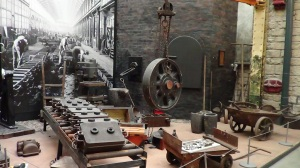 The Foundry where cast metal plates  and parts were made