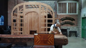 The Carriage shop was where all the wooden bodies for the carriages were made