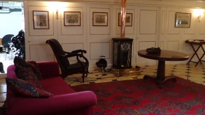 Captains day room