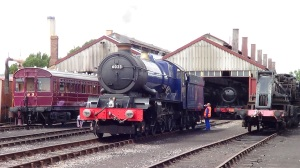 King Edward II back at shed to take on water