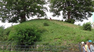 The mound of the original Norman keep