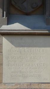 Memorial in Broad St