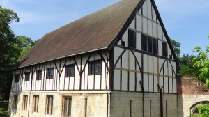 The Hospitium - originally either a guest house or barn in the Abbey.
