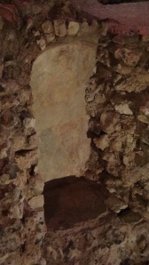 Niche in Cult room for statue or idol