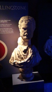 Copy of bust found at Lullingstone suggested to be of Pertinax