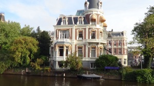 Canal-side house