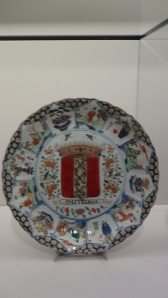 Plate bearing the Arms of Amsterdam