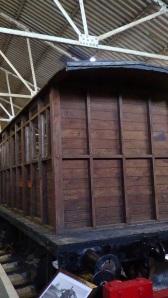Replica of original Tramway carriage