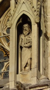 carving from exterior of York Minster
