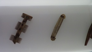 Anglo-Saxon comb and hair grip