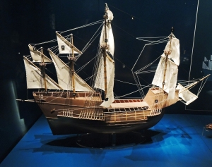 Model of Mary Rose