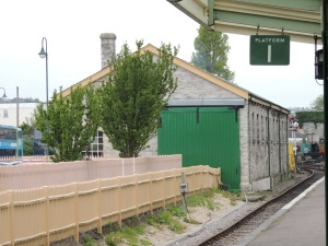 Engine shed at Swanage