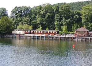 Lakeside station from Windermere
