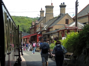 Haverthwaite Station