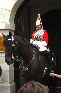 Mounted guard from Lifeguards