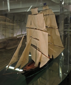Cutty Sark in traditional rig