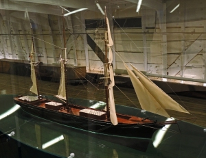 Cutty Sark as rigged in the later part of its working life