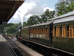 Departing Sheffield Park