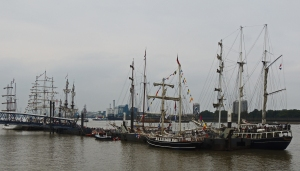 Ships moored at Woolwich Riverfront