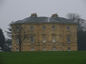 Danson House from the lakeside