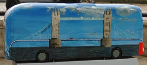 Tower Bridge bus