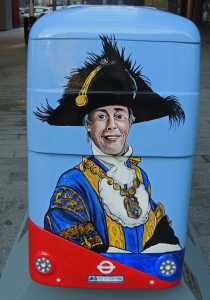 The Lord Mayor on 'City of Westminster' bus