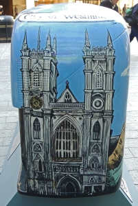 Westminster Abbey on 'City of Westminster' bus