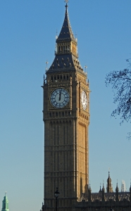 The Bell Tower which contains Big Ben