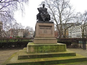 Statue of Charles James Fox in Bloomsbury Square