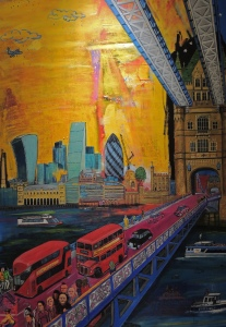 Forever Imagical Tower bridge by Mentor Chico (2014)