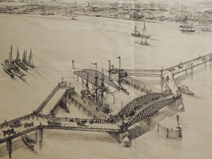 Frederick Bennet's design for river crossing