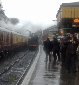 925 Cheltenham entering Ropley