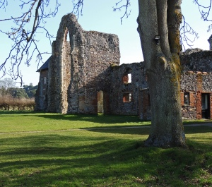 The West end of the Abbey buildings