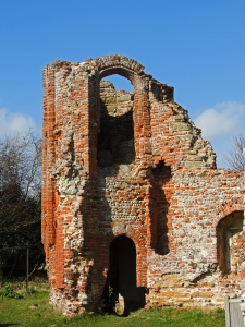 Remains of 16th century Gatehouse