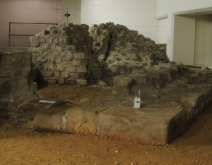 Remains of guardroom of Western Gateway