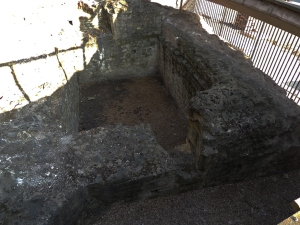 The only surviving Medieval gate tower in London's wall (Tower Hill)