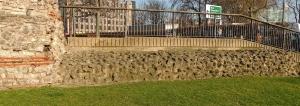 Roman wall at Tower Hill