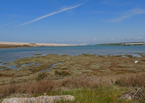 Chesil Lagoon at Ferrybridge