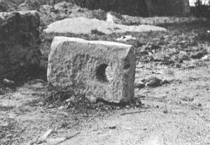 Trajanic mooring block from Portus (www.ostia-antica.org )
