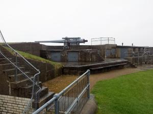 WWII coastal battery