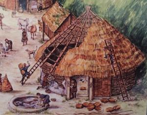 Iron Age round-house