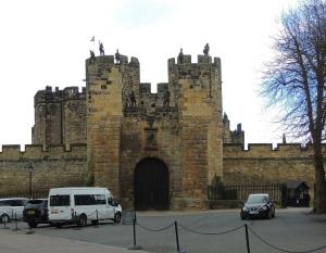 Entrance to Alnwick Castle