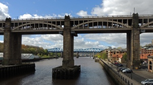 High level bridge 1849 carries both a road and railways