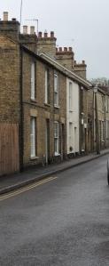 A terraced street