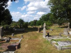 Upchurch churchyard