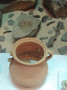 Pottery found at Segedunum fort