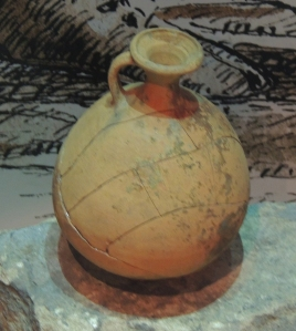 Jar found at Segedunum fort