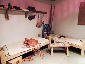 Reconstruction of barrack room