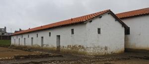 Reconstructed barrack block