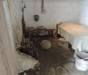 Soldiers cooking/ storage room
